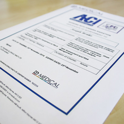 Ionised Radiation Training CPD Certificate